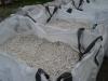 Splitt aus Dolomit (Dolomit-Splitt), Lieferungsvariante: in Big-Bag, Schroppen, Naturstein aus Polen