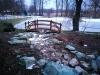 Wasserbausteine aus Serpentin, grüne Wasserbausteine für unterschiedliche Zwecke nicht nur im Garten- und Landschaftsbau. Unterschiedliche Formen und Größen von Wasserbausteinen, grüner Naturstein aus Polen.