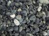 Runde Steine aus Serpentin - Serpentinit, grüner Naturstein, Schroppen, Naturstein aus Polen