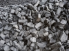 Basaltschotter 31-5,63 mm (grau-schwarz), Basalt für eine Gabionenmauer / Natursteinmauer