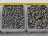 Splitt aus Syenit (graphite Farbe), Körnung: 2/5 mm, 8/11 mm, 11/16 mm, 16/22 mm, Lieferungsvariante: lose