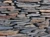 Serizit-Schiefer, Mauersteine als Platten