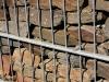 Łupek szarogłazowy, kamień murowy bloczkowy w gabionach