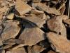 Łupek szarogłazowy, kamień surowy drobny
