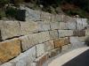 Granit-Mauersteine / Naturstein-Mauer / Granit-Mauer, grau-gelb, Mittelkorn, allseitig gespalten (Granit-Mauersteine aus Polen) - Foto von unseren Kunden, Mauersteine für eine Natursteinmauer, Polengranit