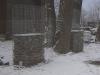 Frostbeständige Natursteine (Schiefer) aus Polen für Gabionen… (Natursteine aus Polen), Natursteinmauer, Gabionenzaun, Gabionenmauer, Naturstein für Gabionen, Naturstein aus Polen, Polengranit
