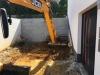Granit-Mauersteine / Naturstein-Mauer / Granit-Mauer, grau, Mittelkorn, gesägt-gespalten (Granit-Mauersteine aus Polen), Mauersteine für eine Natursteinmauer, Polengranit - Foto von unseren Kunden
