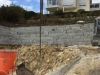 Granit-Mauersteine / Naturstein-Mauer / Granit-Mauer, grau, Mittelkorn, gespalten (Granit-Mauersteine aus Polen), Mauersteine für eine Natursteinmauer, Polengranit - Foto von unseren Kunden