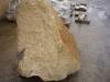 Bryły nieregularne z piaskowca szaro-żółtego
