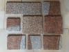 """NEU """"Antikplatten"""", """"Gredplatten"""", """"Krustenplatten"""", veraltete Platten (nass - Beispiel)..., Granit aus Polen, Platten für den Garten- und Landschaftsbau, Gehwegplatten, Abdeckplatten, Polygonalplatten, Terrassenplatten, Naturstein aus Polen, unterschiedliche Farben, Formate"""