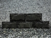 Bossierte Verblender aus Serpentin - Serpentinit, Naturstein aus Polen, Platten, Gartenmöbel aus Natursteinen, Natursteinmauer, Gabionensteine, Gabionenzaun, Gabionenmauer