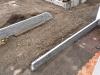 Natursteinmauer / Naturstein-Mauer / Granit-Mauer... Baustelle - gesägt-gespaltene Granit-Mauersteine-Fotos von unseren Kunden (vom oben)..., Granit-Mauersteine aus Polen, Mauersteine für eine Natursteinmauer, Polengranit