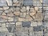 Zurzeit nicht erhältlich - Kundenfoto - gemischte Natursteine für Gabionen (Drahtkörbe, Steinkörbe)..., Natursteine aus Polen, Natursteinmauer, Gabionenzaun, Gabionenmauer, Naturstein für Gabionen, Naturstein aus Polen, Polengranit, schwedische Natursteine