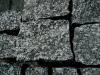 Syenit-Pflastersteine, alle Seiten gespalten