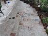 """NEU MITTELKORN - """"Antikplatten"""", """"Gredplatten"""", """"Krustenplatten"""", veraltete Platten (NUR BEISPIEL - AUF DEM FOTO ALS NASS), Platten nicht nur für den Garten- und Landschaftsbau, Gehwegplatten, Abdeckplatten, Polygonalplatten, Terrassenplatten, rustikale Platten, frostbeständiger Granit aus Polen, Unikat aus Naturstein- Foto von unseren Kunden"""