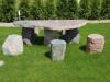 Wyroby z kamienia polnego; blaty, stoły, meble, ławki ogrodowe, płyty chodnikowe, elewacyjne, płyty na tarasy, płyty poligonalne, schody z kolorowych kamieni polnych i inne wyroby architektury krajobrazu