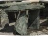 UNIKAT - Möbel (Gartenmöbel) aus Serpentin - Serpentinit, Naturstein aus Polen, Platten, Gartenmöbel aus Natursteinen, Natursteinmauer, Gabionensteine, Gabionenzaun, Gabionenmauer