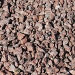 Granit-Splitt, rot (VANGA- ein skandinavisches Material) 8-16 mm